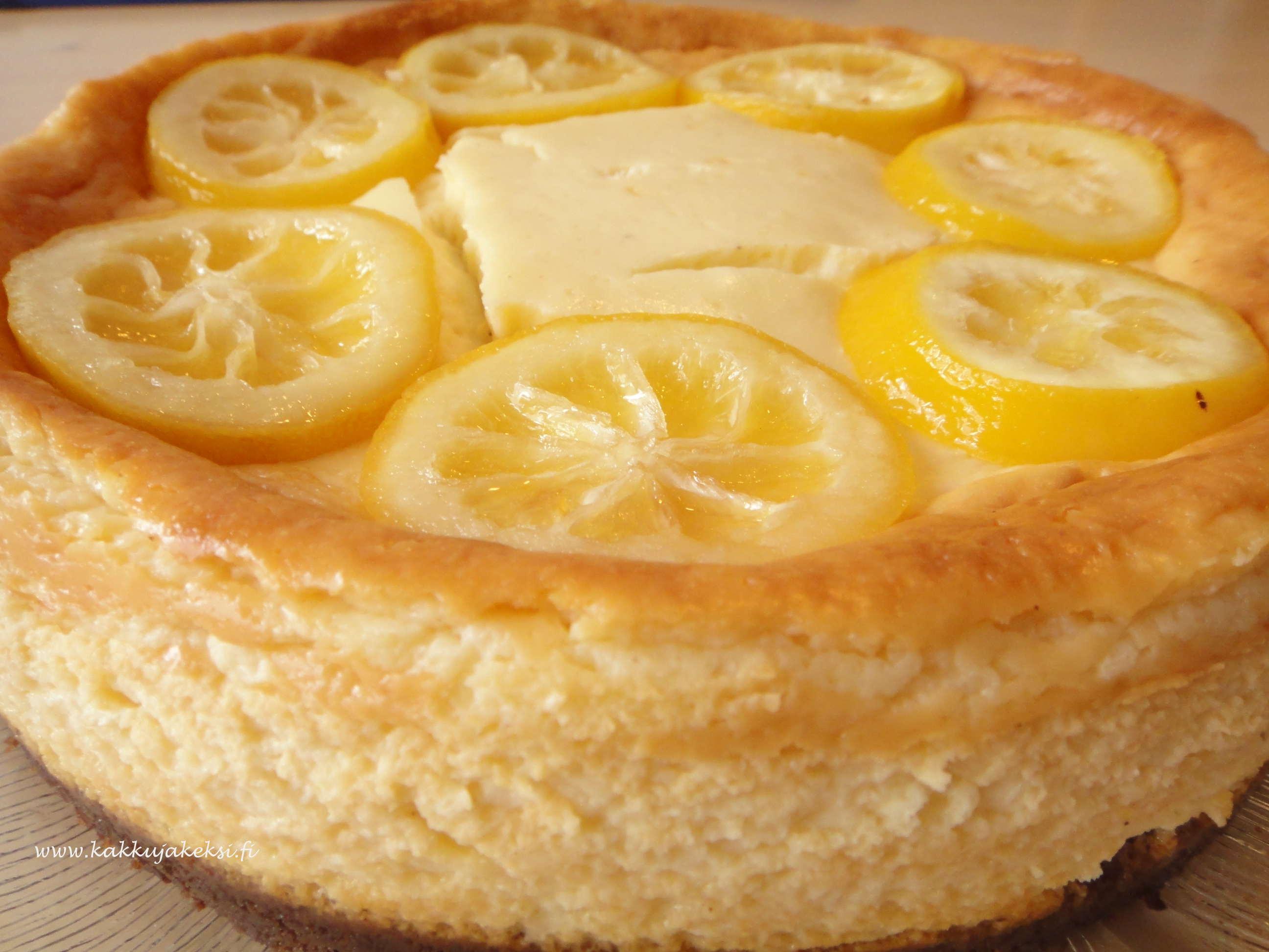 Sitruunajuustokakku