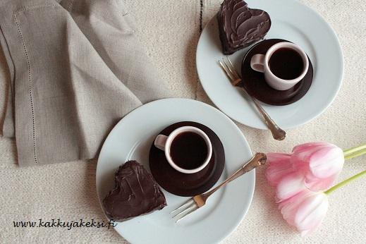 Suklaiset sydänleivokset