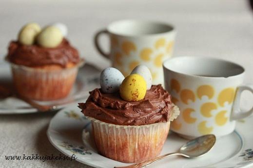 Suklaiset pääsiäismuffinssit