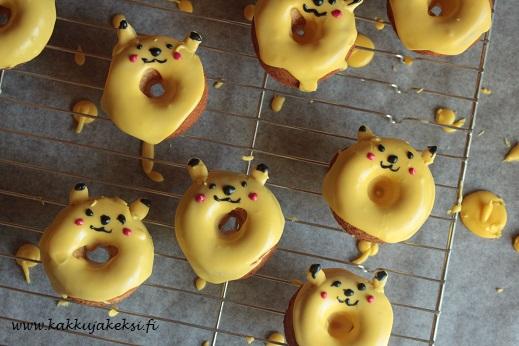 Pikachu-donitsit