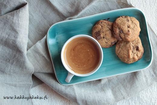 Espresso-suklaacookies