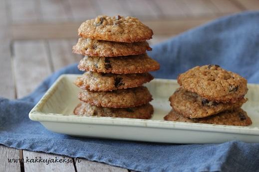 Kaura-rusinacookies